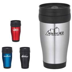 Custom imprinted Madison Travel Tumbler