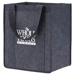 Custom imprinted Planet Earth Grocery Tote