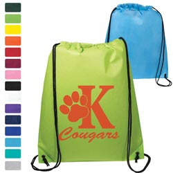 Custom imprinted Econo Non-Woven String Backpack
