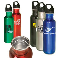 Custom imprinted Streamline Stainless Bottle