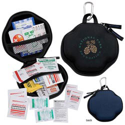Custom imprinted Montana Cross First Aid Kit