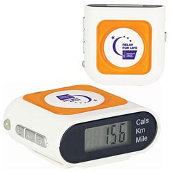 Custom imprinted Safety Pedometer