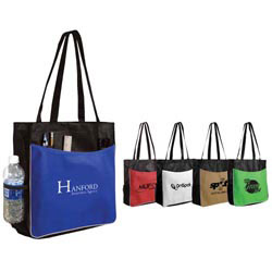 Custom imprinted Non Woven Business Tote Bag