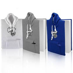 Custom imprinted College Hoodie Notebook