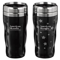 Custom imprinted Heat Wave Star Tumbler