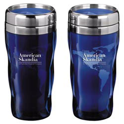 Custom imprinted Heat Wave Global Tumbler