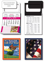 Custom imprinted MBC Real Estate Calendar with Cover - April 2012