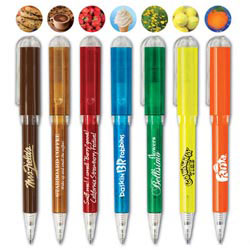 Custom imprinted USA Good Scents Twist Pen
