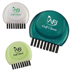 Custom imprinted Pocket Golf Club Groove Cleaner