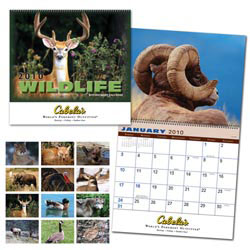 Custom imprinted Wildlife Calendar