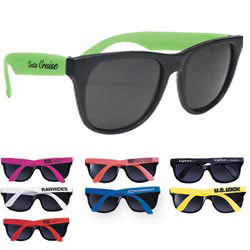 Custom imprinted Rubberized Sunglasses
