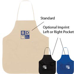 Custom imprinted Non-woven Full Apron