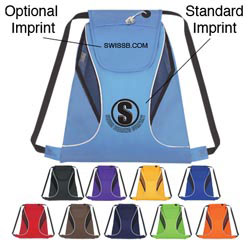 Custom imprinted Sports Pack With Mesh Sides