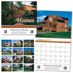Custom imprinted Homes Calendar