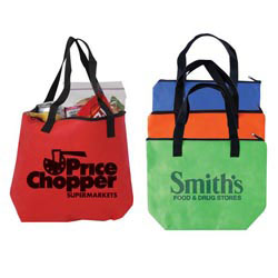 Custom imprinted Non-Woven Cooler Tote