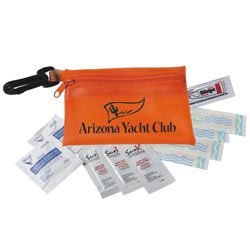 Custom imprinted Sunscape First Aid Kit