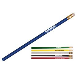 Custom imprinted Thrifty Pencil with White Eraser