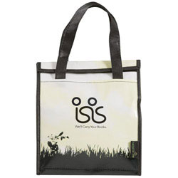 Custom imprinted Laminated Non-Woven Inspire Lunch Bag