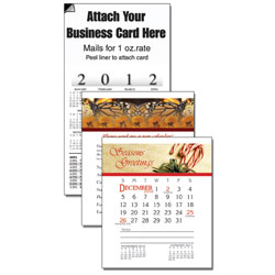 Custom imprinted 13 Month Magnetic Business Card Calendar