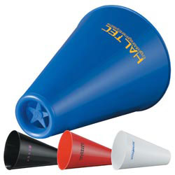 Custom imprinted Rally Megaphone/Popcorn Holder