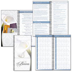 Custom imprinted Wedding Planner