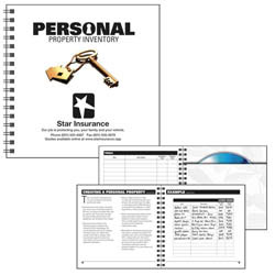 Custom imprinted Personal Property Inventory