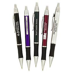 Custom imprinted Ambassador Silver Pen