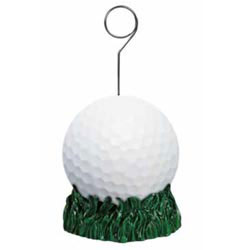 Custom imprinted Golf Ball Photo/Balloon Holder