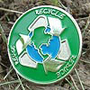 Reduce Reuse Recycle Lapel Pin
