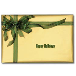 Custom imprinted Holiday Sound Cards - Holiday Present