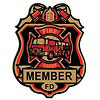 Fire Chief Badge