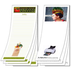 Custom imprinted Note Pad - Full-Color - 25 Sheets