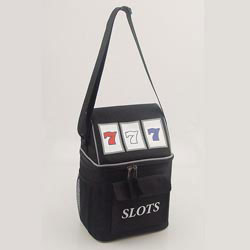 Custom imprinted Slot Machine Cooler Bag