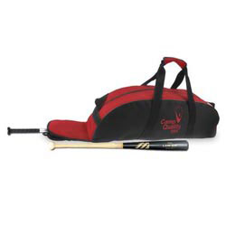 Custom imprinted 600D Polyester Bat Bag