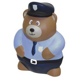 Custom imprinted Police Bear