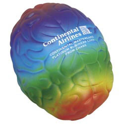 Custom imprinted Rainbow Brain