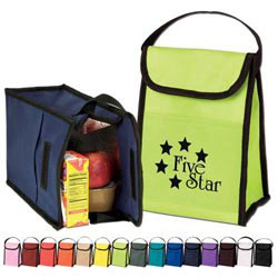 Custom imprinted Nonwoven Lunch Bag