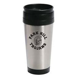 Custom imprinted 14 oz. Stainless Steel Travel Mug