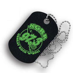 Custom imprinted Dog Tags