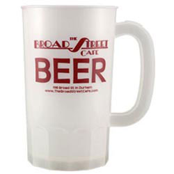 Custom imprinted 32 oz Plastic Stein
