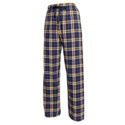Custom imprinted Navy Gold Tie Cord Pant