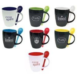 Custom imprinted Bistro Mug