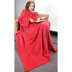 Custom imprinted Snuggle Me Micro Coral Fleece Blanket