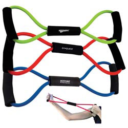 Custom imprinted Exercise Bands
