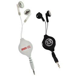 Custom imprinted Audio Earbuds