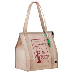 Custom imprinted PolyPro Little Grocery Tote