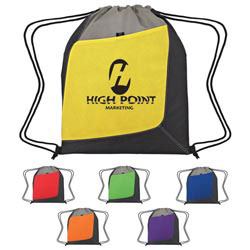 Custom imprinted Non-Woven Accent Sports Pack