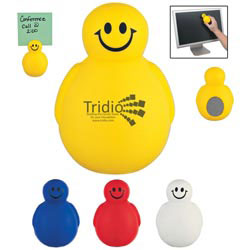 Custom imprinted Special Shape Stress Relievers - Wobble