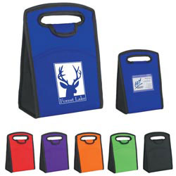 Custom imprinted Non-Woven Identification Lunch Bag