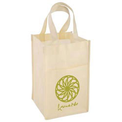 Custom imprinted The Vino Tote Bag